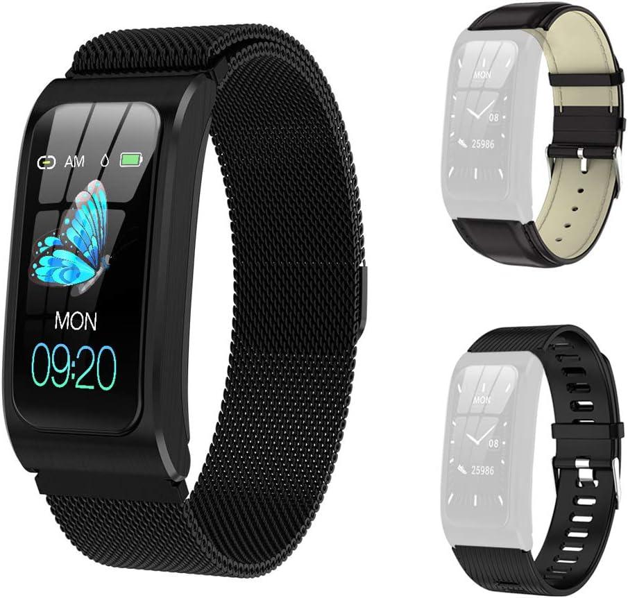 GideaTech Smart Watch with Tracker 超歓迎された 人気 おすすめ IP67 Fitness Waterproof