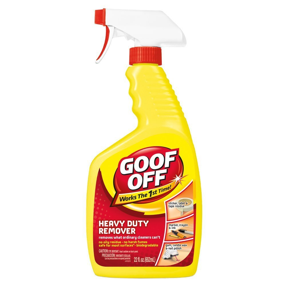 Goof Off FG659 Heavy Duty Special Campaign 3-Pac 22-Ounce Trigger Spray Spasm price Remover