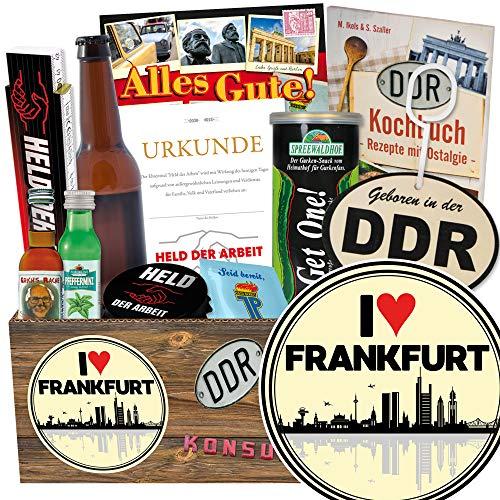 I love Frankfurt / Männerpaket Ostalgie / Frankfurt Geburtstagsüberraschung