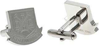 Official Football Team Gift West Ham United F.C. Stainless Steel Cufflinks