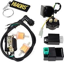 HIAORS Ignition Coil 5 Pin CDI Regulator Rectifier Relay Fuel Filter For Kazuma Meerkat 50cc Falcon 90cc 110cc Taotao Roketa Coolster 110CC ATV 3050B X15 X18 R Nitro X19 SSR 110cc Pocket Bike