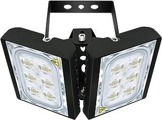 60W LED Flood Light, STASUN 5400lm Outdoor Security Lights, OSRAM LED Chips,6000K Daylight, Adjustable Heads, IP66 Waterproof Outdoor Lighting for Yard, Street, Patio