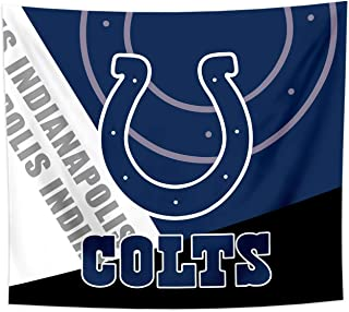 Gloral HIF Indianapolis Colts Tapestry Wall Decor Room Decal Blanket Decorations 50x60 Inches