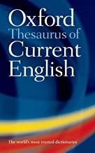 Oxford Thesaurus of Current English - Paperback