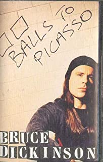 BRUCE DICKINSON: Balls to Picasso Cassette Tape