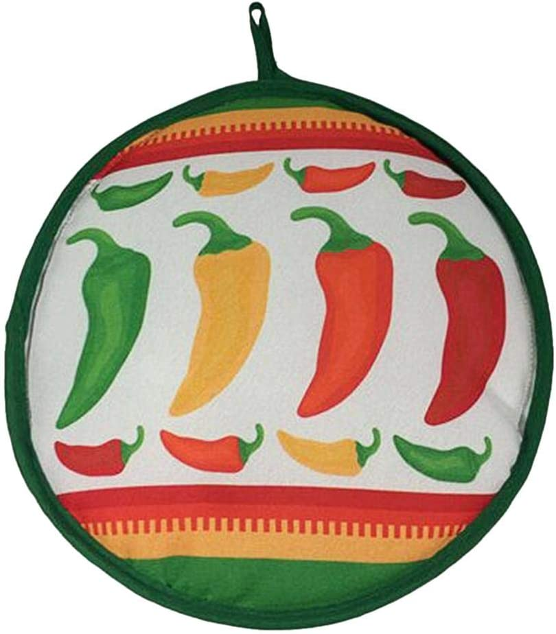 Tortilla Warmer,8.6 Tortilla Warmer Pouch,Tortilla Pouch Keeps Corn /& Flour Tortillas Warm from The Skillet,Pan,Grill or MicrowaveMexican Table Decoration