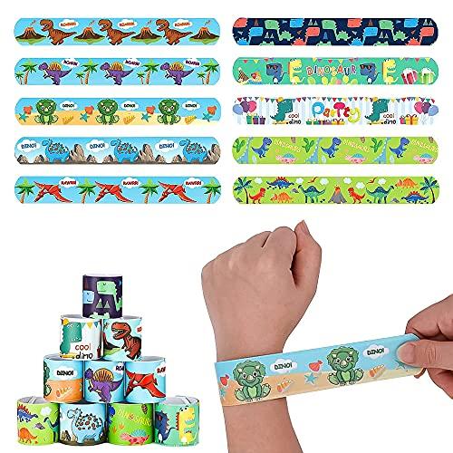 Slap Bracelet,Gadget Bracciali a Scatto,Braccialetti Slap per Bambini,Bambini Braccialetti,Bomboniere Party Suppliesper Bambini, Ragazze e Ragazzi (A)