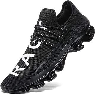 Mens Running Shoes Womens Slip On Blade Mesh Fashion Men's Sneakers Athletic Tennis Sports Cross Training Casual Walking Shoe for Men