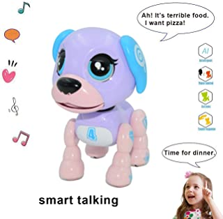 amdohai Interactive Puppy - Smart Pet, Electronic Robot Dog Toys for Age 3 4 5 6 7 8 Year Old Girls, Gifts Idea for Kids ●...
