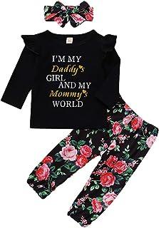 Puseky Cappello in Denim per Neonato Baby Boy Girl I Love Mama Cappuccio con Stampa Papa Letter per 6-36M