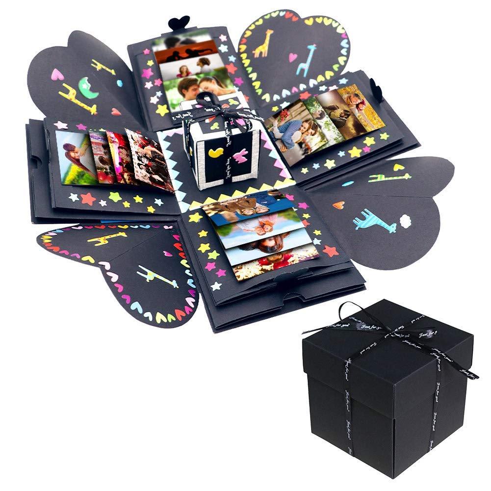 Caja de regalo de explosión DIY Love Box, caja de regalo, caja de explosión, caja sorpresa para novio: Amazon.es: Hogar
