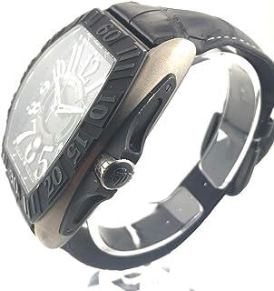 (フランクミュラー)FRANCK MULLER 9900SCGP コンキスタドール グランプリ オートマチック レザーベルト メンズ腕時計 腕時計 チタン メンズ 中古