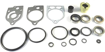 Lower Unit Gearcase Seal Kit for Mercury, Mariner 35 40 45 50 60 70 Hp 1977-1989 Replaces 26-79831A1 18-2654 Read Item Description for Exact Applications