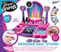 Cra-Z-Art Shimmer 'N Sparkle Real Light Up 8-in-1 Nail Design Studio