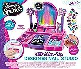 Shimmer and Sparkle 17122 Crazy Lights Estudio de diseño de uñas 8 en 1