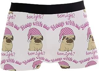 Charlley Lee Men's Soft Breathable Mormon Pug by Nordeva Underwear Boxer Briefs