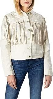 Desigual Luxury Fashion Womens 20SWED41WHITE White Jacket | Fall Winter 19