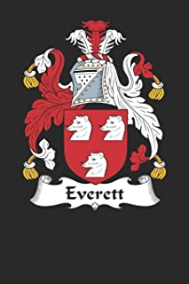 Everett: Everett Coat of Arms and Family Crest Notebook Journal (6 x 9 - 100 pages)