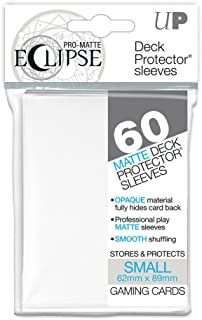 Ultra Pro Pro-Matte Eclipse Small/Yu-Gi-Oh Size White Deck Protector Sleeves Box [12 packs]