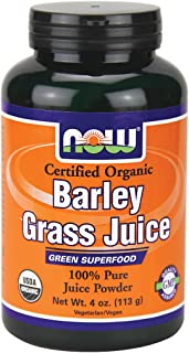 Now Foods Barley Grass Juice (powder) - 4 oz. 2 Pack
