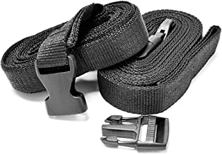 Quick Release Straps 4.9m 2x Tie Down Storage For Kawasaki Vulcan Classic Nomad MeanStreak Drifter