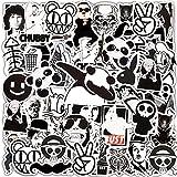 Jackify Paquete de Pegatinas 55pcs, Graffiti Stickers Vinals para Portátiles, Coche, Motocicletas, Automóviles, Bicicletas, Monopatines