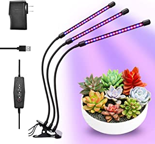 Tonpvou 240W LED Plant Grow Light,with Adjustable Rope,Full Spectrum Plant Light for Indoor Plants Veg and Flower Grow Lamp with IR & UV Red Blue LED,Micro Greens,Clones,Succulents,Seedling(240W)