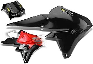 Cycra 14-18 Yamaha YZ250F Powerflow Radiator Shrouds (Black)