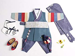 Baby First Birthday Hanbok for boy 1 Age DOL Party Korea Traditional Ceremony jsm204