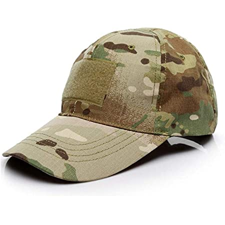 Baseball Cap Camo,Tactical Hat Unisex Army Military Camouflage Cap Men Women Multicam Style Caps for Hunting Fishing Camping Green