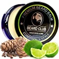 Premium Beard Balm | Cedar Wood and Lime | The Best Beard Conditioner & Softener to Shape & Style your Beard, While Stopping Beard Itch & Flakes | Natural & Organic | Great for Hair Care & Growth (Cedar Wood & Lime) from Red King Products
