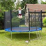 Zoom IMG-1 tectake 800789 trampolino elastico esterno
