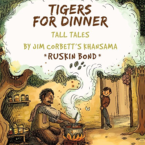 Tigers for Dinner audiobook cover art