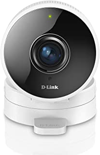 D-Link DCS-8100LH Indoor IP Surveillance Camera, 720p HD, Wi-Fi Connection, Cloud or MicroSD Recording, Sound & Motion Det...