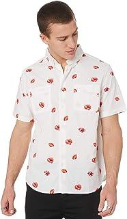 Huf Poppy Ss Woven Short Sleeve T-Shirt
