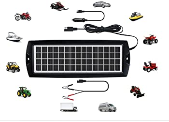AUTOMATIC 12V BATTERY FLOAT CHARGER BOAT CAR TRUCK TRACTOR 4 WHEELER KUBOTA DC