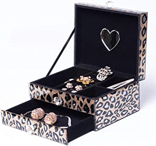 leopard jewelry box