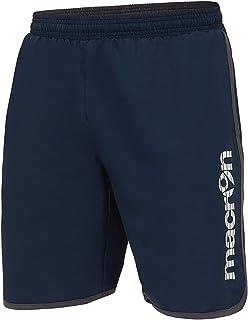 60ce1f9cea40af Calzoncini Corti Uomo Pantaloncini con Tasche Bermuda Microfibra Macron  Bazalt