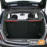 Travall Guard Compatible with Vauxhall Corsa 3 Door Hatchback 2006-2019 TDG1114 - Vehicle-Specific Dog Guard Luggage Barrier Load Separator