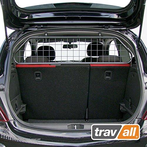 Travall Guard Hundegitter Kompatibel Mit Opel Corsa 3 Türer Fließheck (2006-2019) TDG1114 - Maßgeschneidertes Trenngitter in Original Qualität
