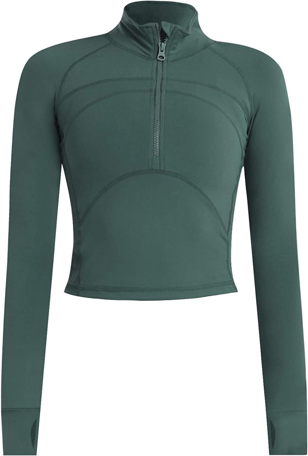 Women's 40% OFF Cheap Sale Cropped Workout Jacket 1 Running 2 Pullover Athletic Zip shopping