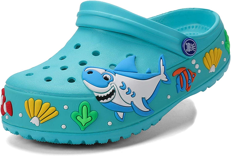 Max 65% OFF atyun Kids Clogs Alternative dealer Slippers Sandals Cartoon Non-Slip Girls Slides