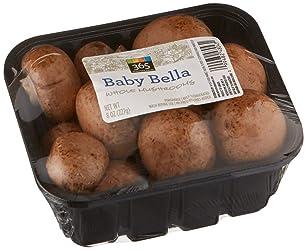 365 Everyday Value Baby Bella Whole Mushrooms, 8 oz