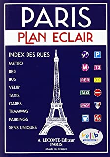 Plan de ville : Paris, circulation