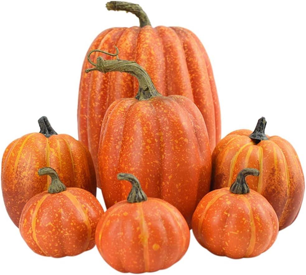 DIAND 7 Pcs Popular popular Artificial Pumpkin P Decoration Simulation Complete Free Shipping Lifelike