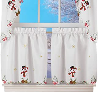 country snowman valance