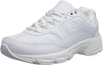 Fila Women's Memory Workshift Training Shoe,White/White/White,7.5 W US
