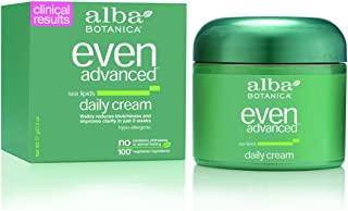 Alba Botanica Even Advanced Sea Lipids Daily Cream 2 oz (Pack of 2)