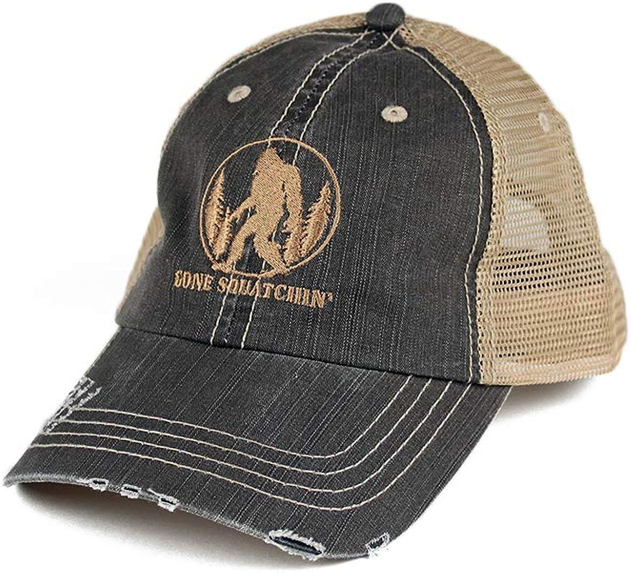 B Wear Sportswear Gone Squatchin' Twill Cotton Brow quality assurance Cap Trucker Award-winning store