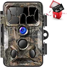 Victure Trail Game Camera 20MP with Night Vision Motion Activated Waterproof and 130° Detection Low Glow Hunting Camera Trap 1080P IP66 for Outdoor Wildlife Monitoring